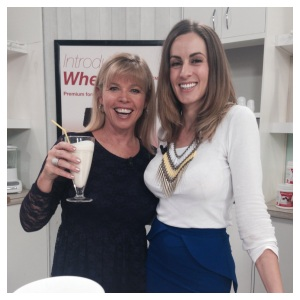 Amie Skilton and Moria on the Whey Less Set
