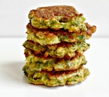 Nikki's YUM, Healthy Broccoli Fritters