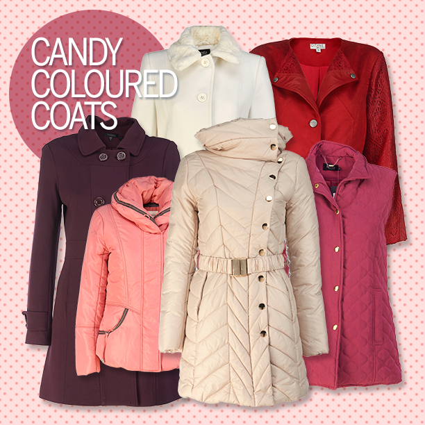 Winter Fashion Trend - Candy Coloured Coats