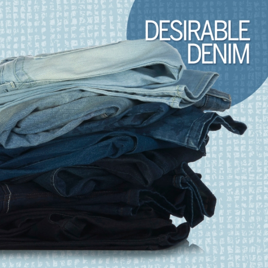 Winter Fashion Trend - Desirable Denim