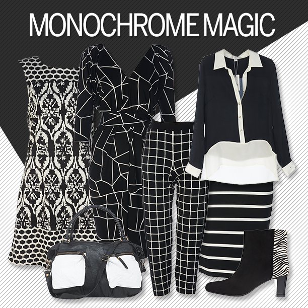 Winter Fashion Trend - Monochrome Magic