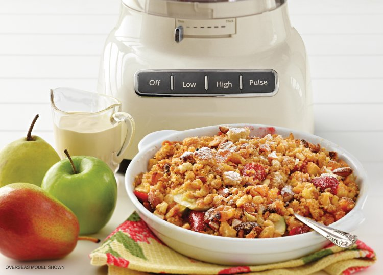 Kitchenaid's Glorious Fruit Crumble